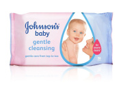 Johnson's Baby Wipes Gentle Cleansing Pack of 56 Wipes
