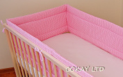 NURSERY BUMPER 360cm LONG ALL ROUND BUMPER TO FIT BABY COT
