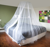 Large Mosquito Net Insect Bug Protection Bed Canopy 12 Metre Coverage Ideal For Home Or Holidays