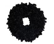 Volumising Velvet Scrunchie Plain Big Hair Tie Bun Clip Hijab Volumizer Scarf