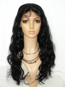 Chantiche.5a Brazilian Human Hair Body Wave Wigs Natural Looking Lace Front Wig with Baby Hair 130 Density 46cm #1B Medium Size Cap Medium Brown Lace by Chantiche Lace Wig