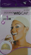 2 Pcs Stocking Wig Cap with Elastic Band Blonde