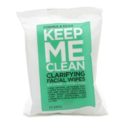 Formula Ten-O-Six Keep Me Clean 10.0.6 Keep Me Clean Clarifying Facial Wipes, Cucumber + Witch Hazel, 25 Ea