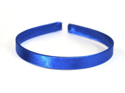 Narrow Satin Headband Hair band Alice Band Flexible 14 mm School colours