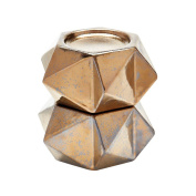 Dimond Home Gold Large Ceramic Star Candle Holders