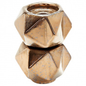 Dimond Home Gold LS Small Ceramic Star Candle Holders