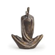 Couple Embrace Bronze Sculpture
