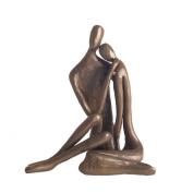 Couple Embracing Bronze Sculpture