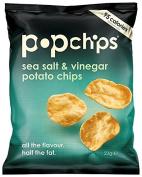 Popchips Sea Salt and Vinegar Potato Chips 23 g