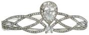 Signature Tiara Large Crystal with Intertwining detail Tiara