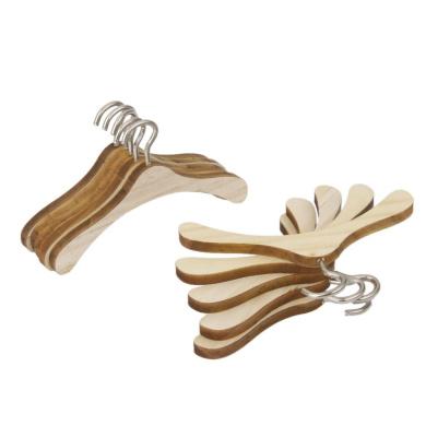 10pcs 1/4 BJD Dolls Clothes Hanger Wooden Accessory