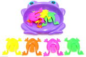 Jumping Frogs Game Board Game Flipping Frog Game Frog Hopping Game Tiddlywinks