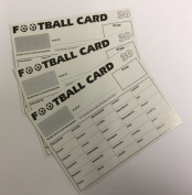 30 Team Football Fundraising Scratch Cards Pack of 25