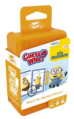 Shuffle Guess Who Minions Card Game