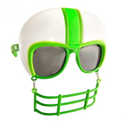 Party Costumes - Sun-Staches - Green Football Helmet Game Shades Toys SG1899