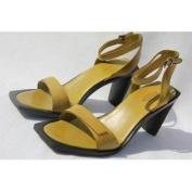 TOD'S Women's Sandalo Fibbia Vertigo Donna Olive Ankle Strap Pumps US 9 / 39 NEW