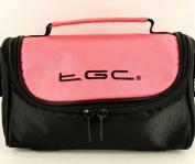 New TGC Baby Pink & Black Shoulder Camera Case for FujiFilm SLR FinePix S2980 - Bridge Cameras & Camcorders