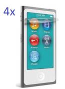 Smartec24 4 x iPod Nano 7 Screen Protector Ultra Clear Generation. Crystal Screen Protector 100% Keyed for iPod Nano 7