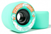 CLOUD RIDE Longboard OZONE Wheels ORIGIN/DB Longboards 70mm 80a TEAL
