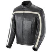 Joe Rocket Old School Men's Leather Motorcycle Jacket