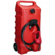 DuraMax Flo n' Go LE Fluid Transfer Pump and 53l Rolling Gas Can