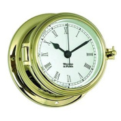Weems and Plath Endurance II 108.8lz Clock with Roman Numerals, Brass