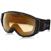 Julbo Universe Goggles with Zebra Lens, Black/Grey, X-Large