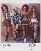 Little Mix SIGNED Photo 1st Generation PRINT Ltd 150 + Certificate