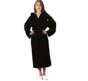 Black Terry Bathrobes 100% Soft Cotton Black bathrobe L/XL