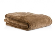 FNA ® Luxury Soft Faux Fur Mink Throw, Sofa/Bed Blanket MINK- KING Size 200 x 240cm SALE