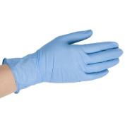 Disposable Blue Vinyl Gloves - Large
