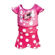 Swimways Deluxe Minnie Mouse Swim Shorty Pink Polywog Swimming Suit