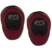 Rival Boxing d30 Intelli-Shock Pro Punch Mitts - Black/Red