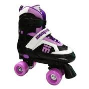 Mongoose Girl's Quad Roller Skates, Large
