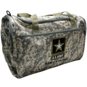Army Military Duffle Bag - Heavyweight Construction Adjustable Strap