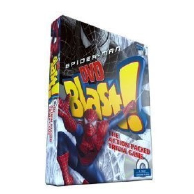 Spiderman Blast DVD Trivia Game