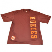 Virginia Tech Hokies Vertical Logo Performance Maroon T-Shirt
