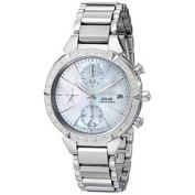 Seiko Women's SSC867 Solar Silver-Tone Stainless Steel Watch