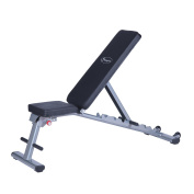 Seven-Position Adjustable Foldable Weight Bench