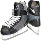 American Athletic Shoe Boy's Ice Force Hockey Skates, Black, 4