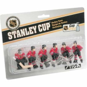 NHL Chicago Blackhawks Table Top Hockey Game Players Team Pack