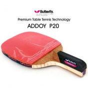 NEW Butterfly ADDOY P20 Table Tennis Racket Penholder Paddle Ping Pong Racket & Ball