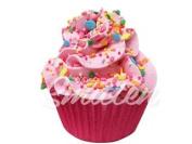 Pink Bliss Large Cupcake Bath Bomb by Feeling Smitten Bath Bakery