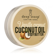 Deep Steep Coconut Oil Body Butter, Vanilla, 210ml
