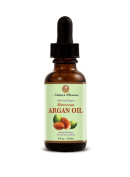 Pure Moroccan and Organic Anti Ageing Argan Oil for Face, Body and Hair by Nature's Preserve - 120ml