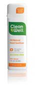 Cleanwell All-natural Hand Sanitizer, Orange Vanilla Scent, 30ml