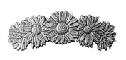 Hair Clip | Barrette | Daisies | Handmade in the USA by Oberon Design