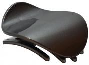Parcelona France Onde Celluloid Grey Side Slidein Secure Grip Hair Updo Hinge Duck Hair Claw - 5.7cm