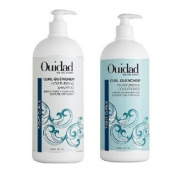 Ouidad Curl Quencher Moisturising Shampoo & Conditioner Litre Duo