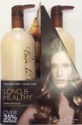 Bain De Terre Sweet & Almond Oil Long & Healthy Shampoo & Conditioner Litre Duo